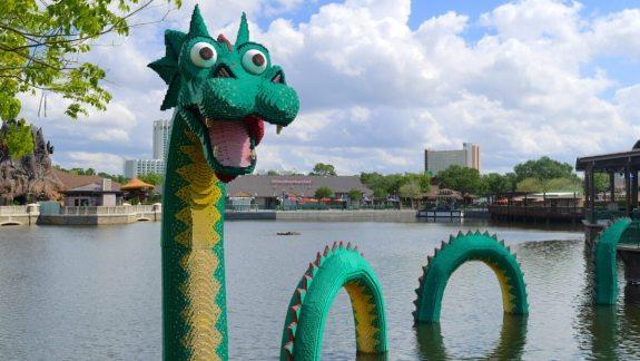 dragon lego store disney