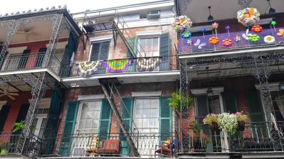 Dans le Vieux Carré de la Nouvelle-Orléans.