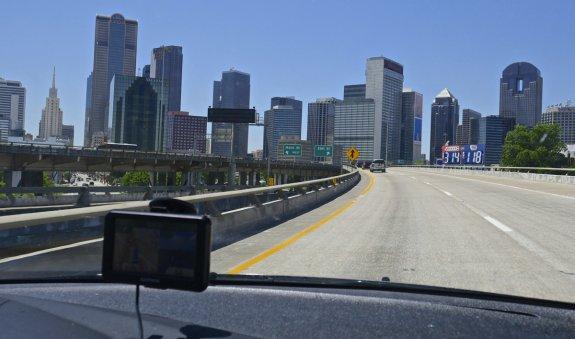 dallas skyline highway