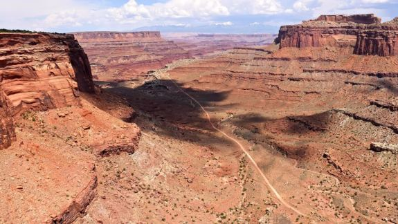 Shafer Canyon sur la White Rim Road