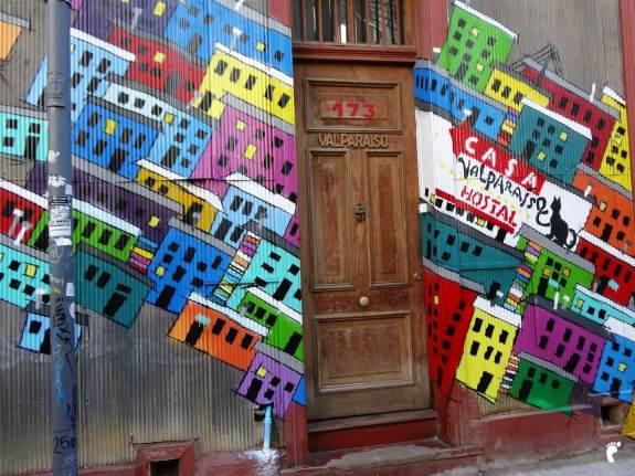 Entrée Auberge de jeunesse Chili