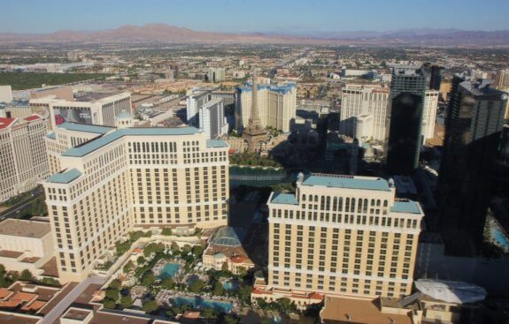 Survol Bellagio Las Vegas Hélicoptère