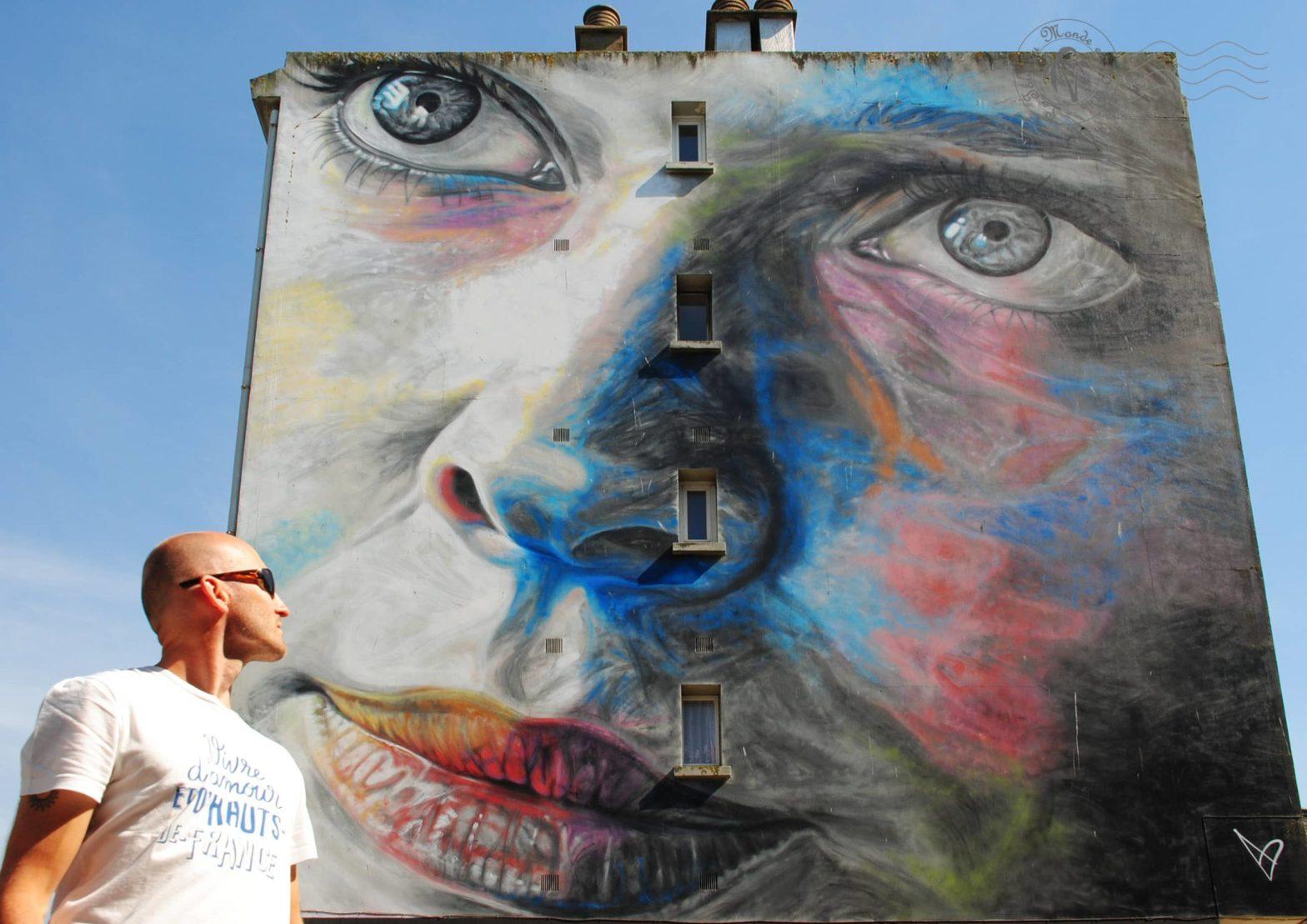 Chasse au street art à Boulogne-sur-Mer