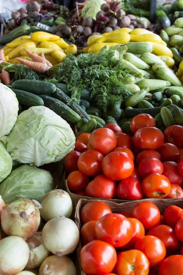 la verdura del mercato