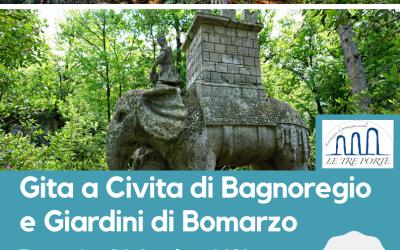 Gita sociale a Civita di Bagnoregio e Giardini di Bomarzo