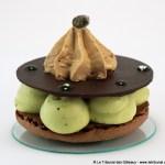 Macaron Pistache Praliné par L'Osmanthe