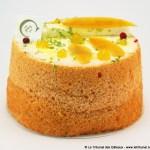 Angel Cake aux Fruits Exotiques par la pâtisserie Ciel
