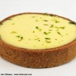 Tarte au Citron Vert et au Basilic par Jacques Génin