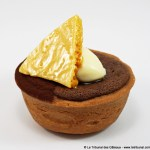 [Londres] Baked Chocolate Tart with Mascarpone and Honeycomb par Ottolenghi