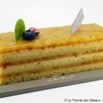 Cake Mangue, Coco et Citron Vert par Nicolas Bernardé
