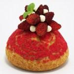 Le Chou aux Fraises par Gâteaux Thoumieux