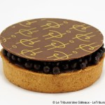 Tarte Infiniment Chocolat au Lait par Pierre Hermé