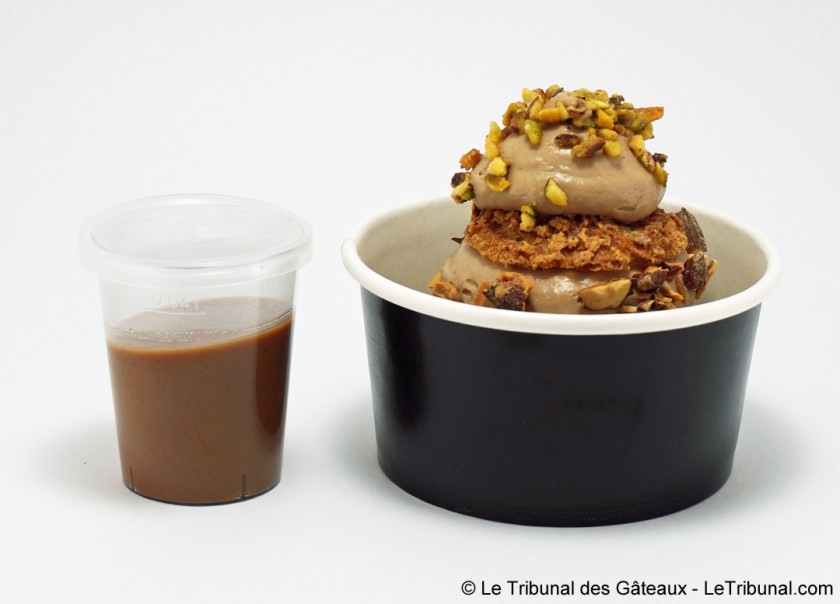 profiterole chérie chocolat pistache philippe urraca