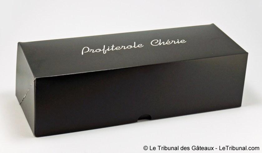 emballage profiterole chérie chocolat pistache philippe urraca