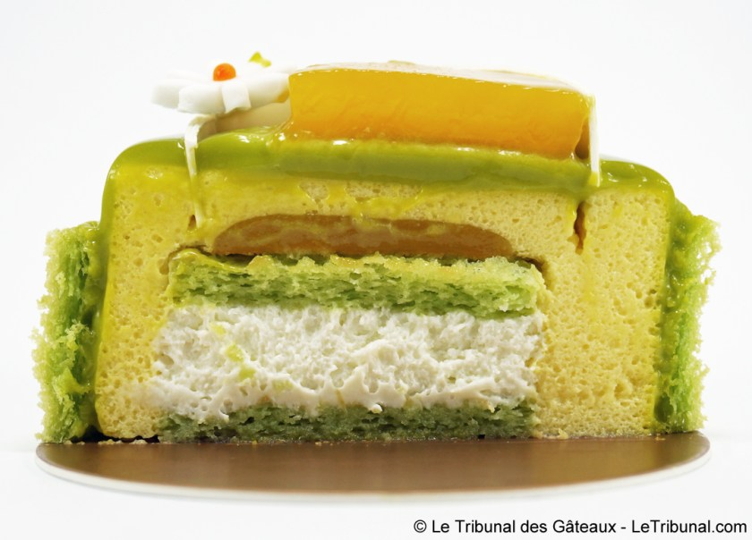 gâteau pandan peninsula hong kong