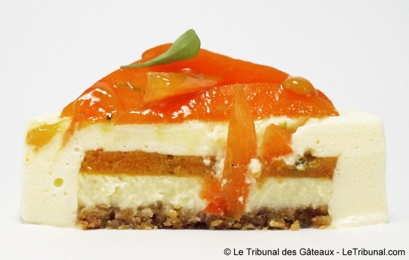 cheesecake aux abricots yann couvreur