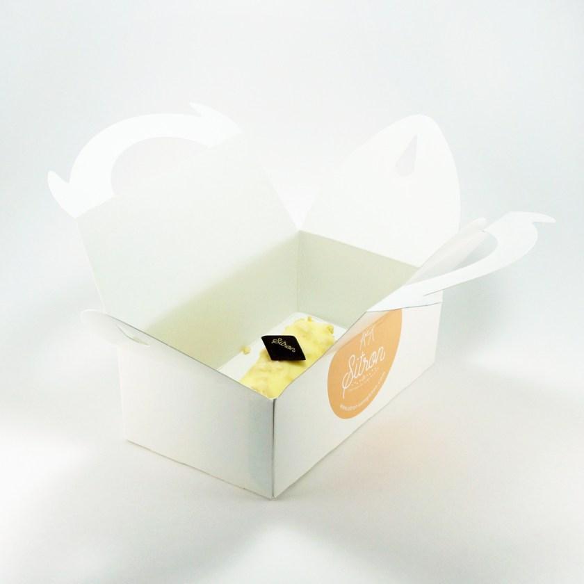 bûche vanille pécan citron
