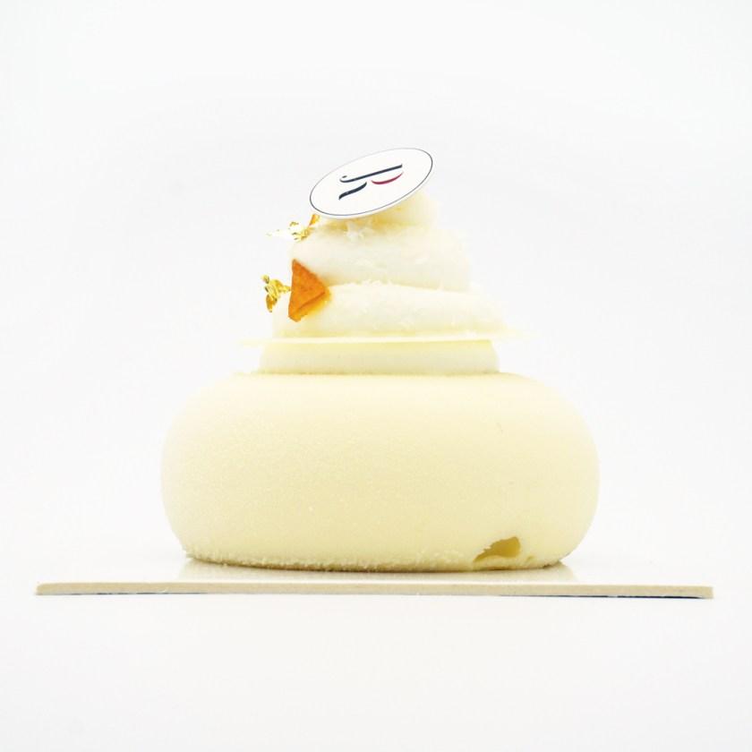 mousse chocolat blanc saké Joël robuchon dassai