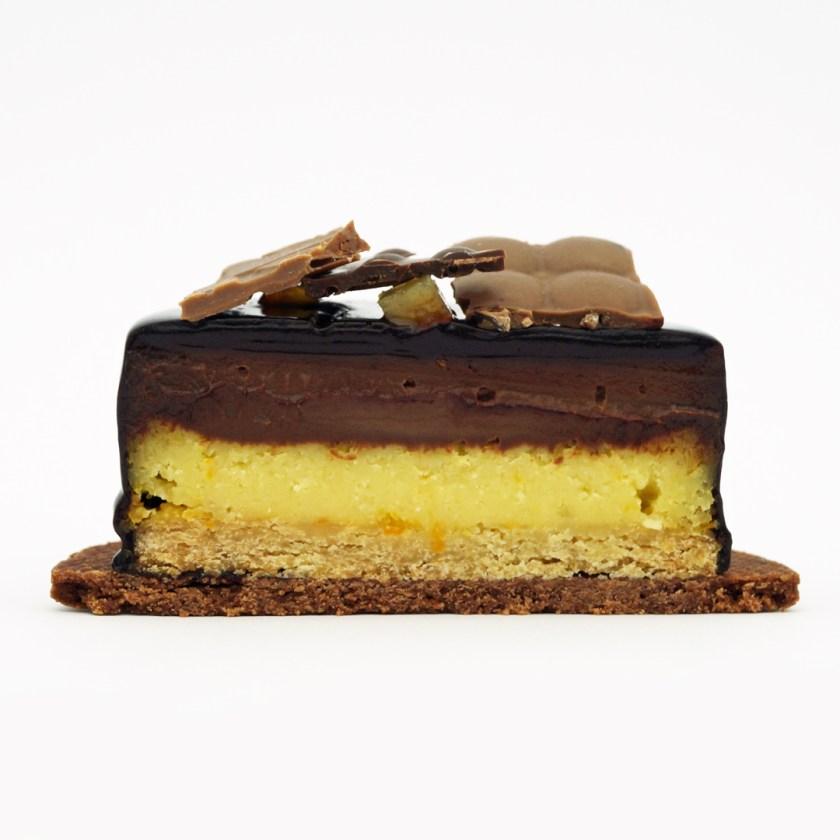 Tarte Orange Chocolat Atelier Muscade