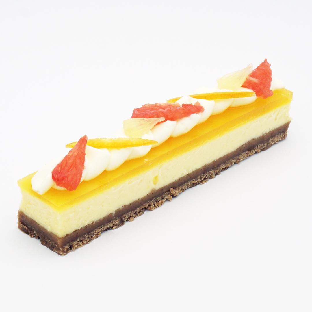 Cheesecake aux Agrumes par Jean-François Foucher