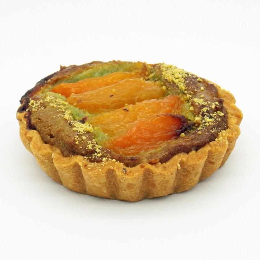 tarte pistache abricots vegan jo and nana cakes
