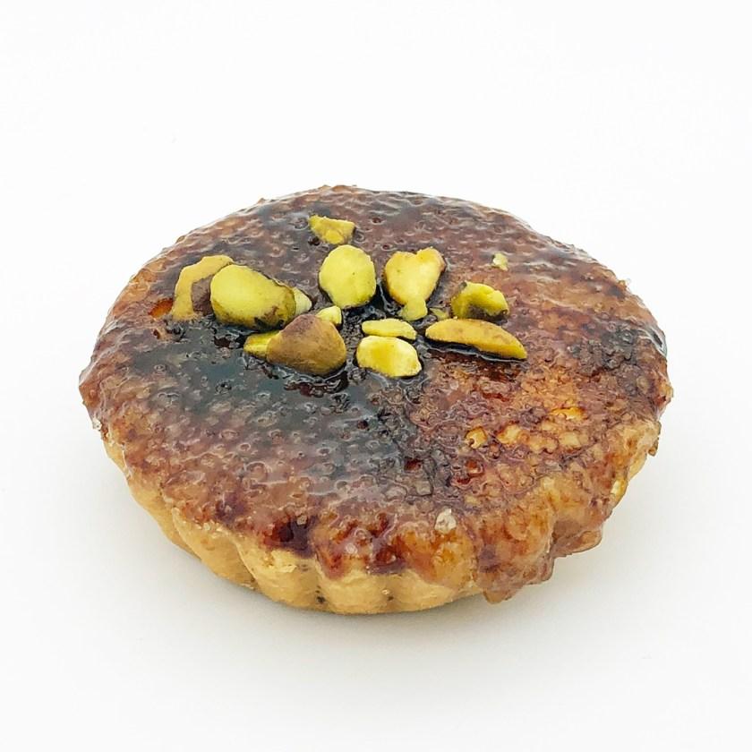 ginger brulee tart Bourke street bakery sydney