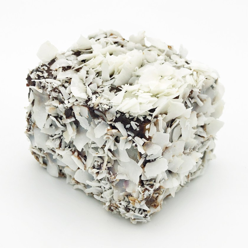 panna cotta Lamington cake by flour and stone sydney