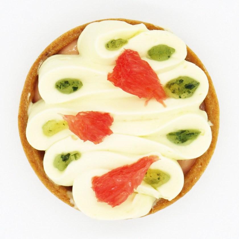 tarte pamplemousse estragon broken biscuits
