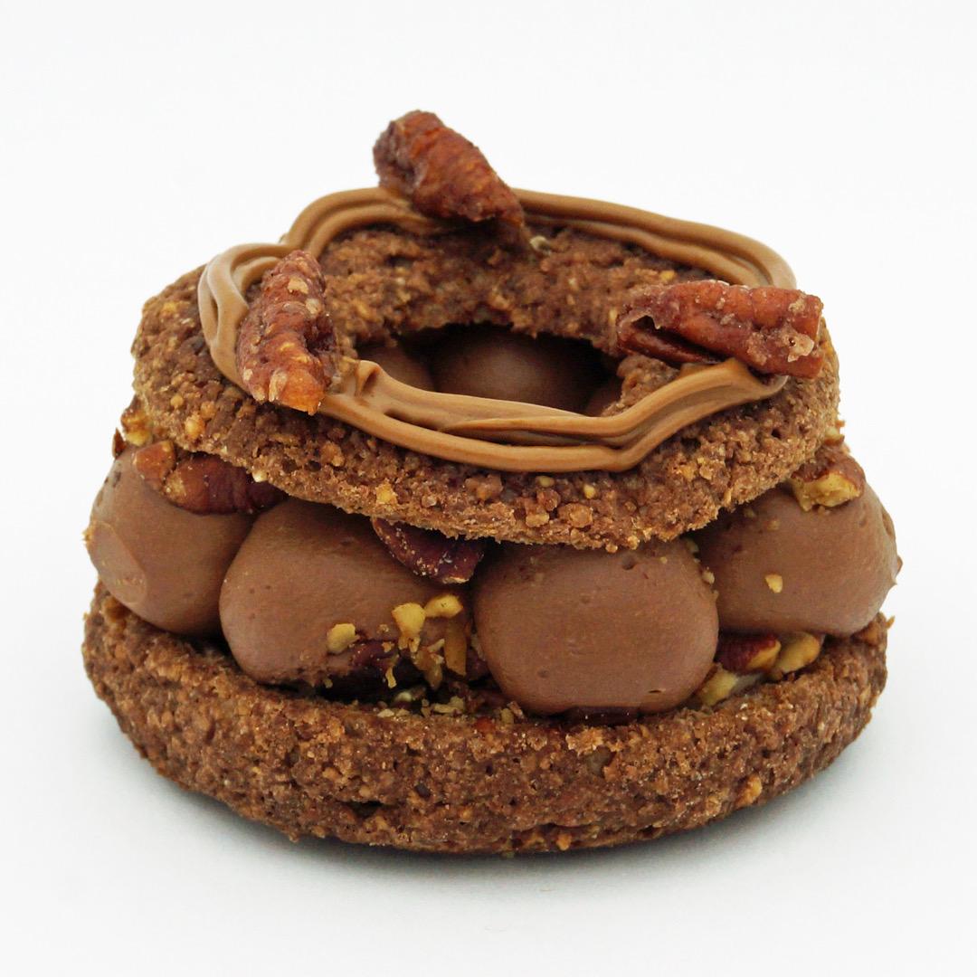 Paris-Brest au Chocolat et à la Noix de Pécan par Utopie