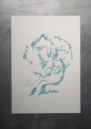 Passage n° 1 : bleu clair