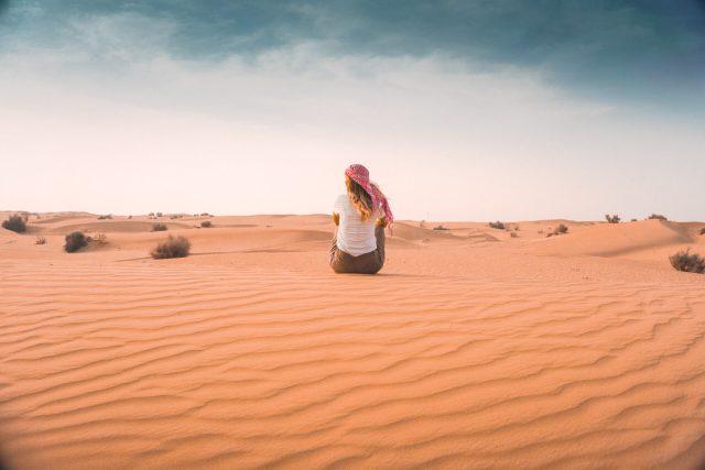 In der Wüste von Dubai - lets-do-this.de