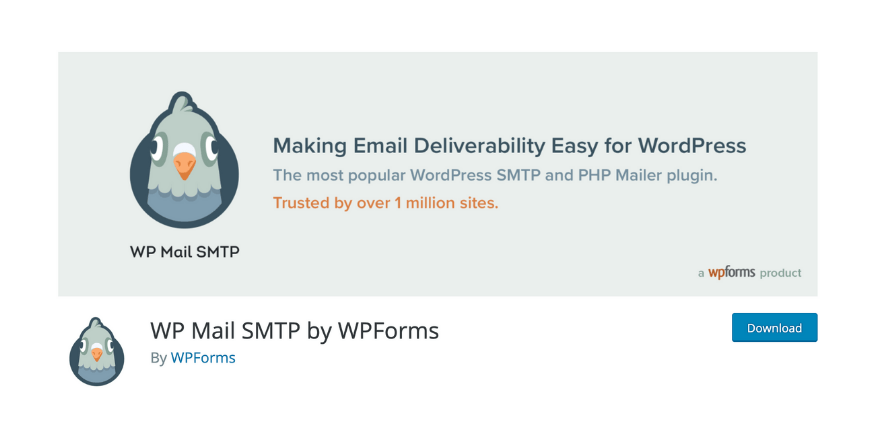 use a SMTP plugin wordpress for not receiving email notifications