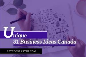 Unique Small Business Ideas Canada