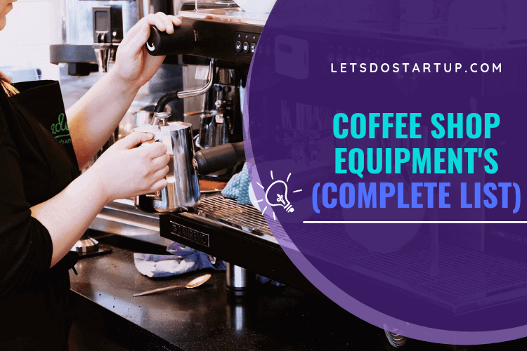 equipment for coffee shop