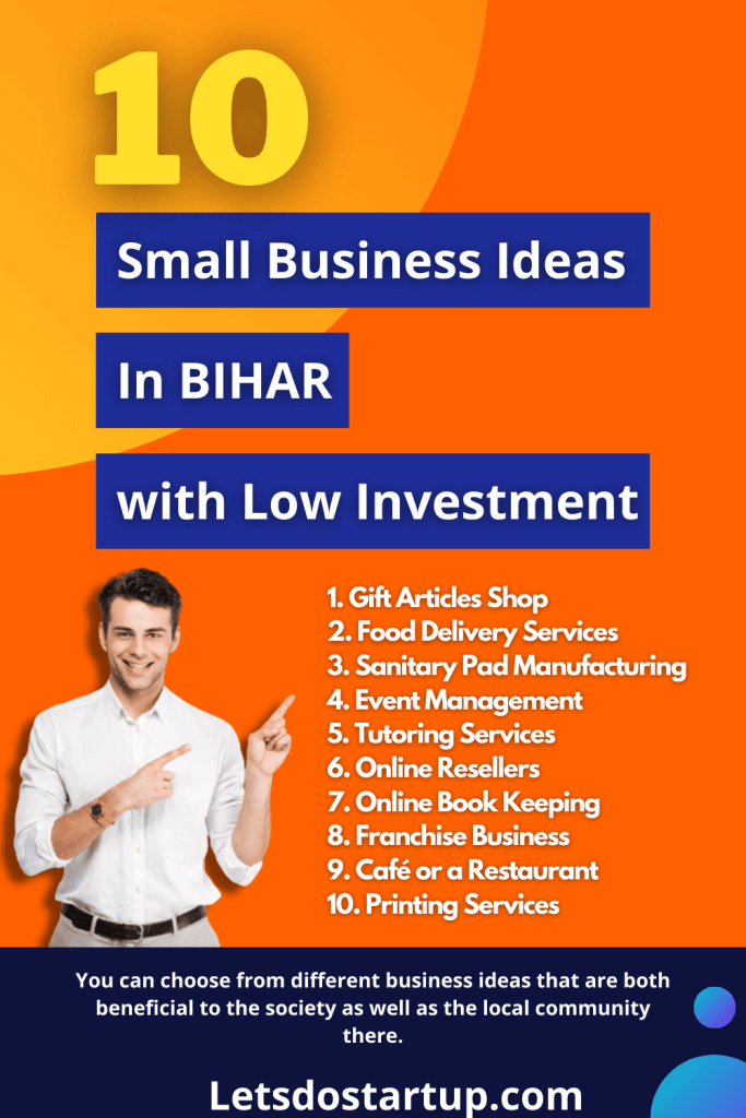 Top 10 profitable small business in bihar india