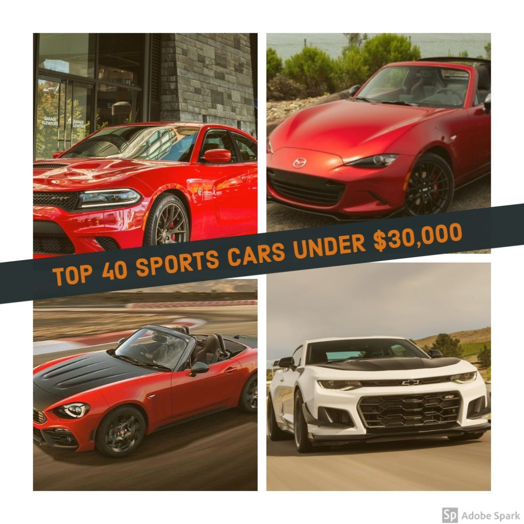 Best Cars Under 30000 For 2019