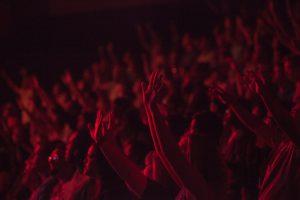 Crowd of people. Photo by Kaleb Nimz on Unsplash