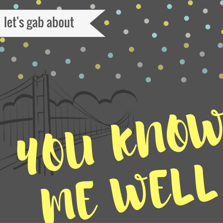 Let's Gab About: You Know Me Well (book review)