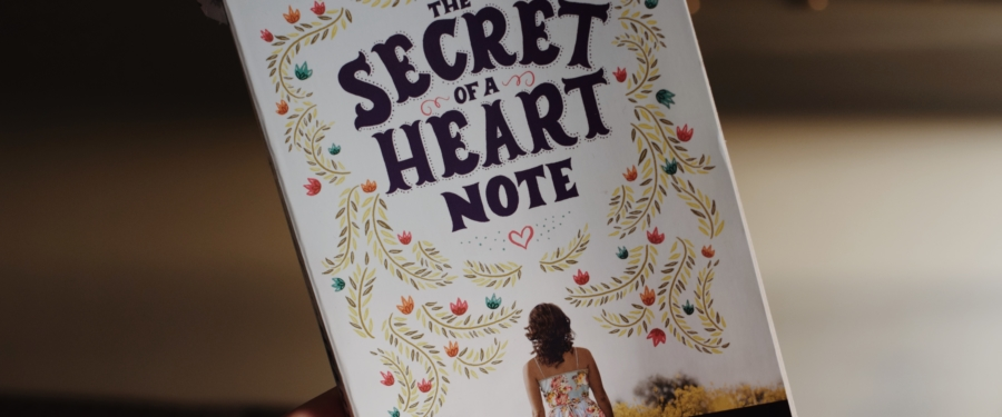 The Secret of a Heart Note by Stacey Lee Book Review Advance Reader's Copy