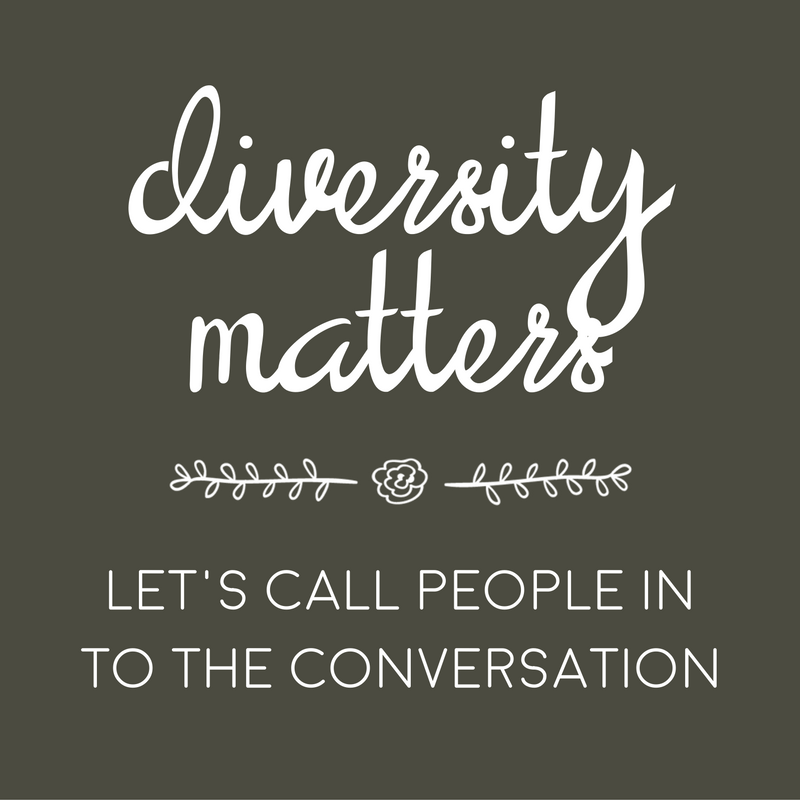 Diversity matters // how to call someone in to the conversation (discussion)