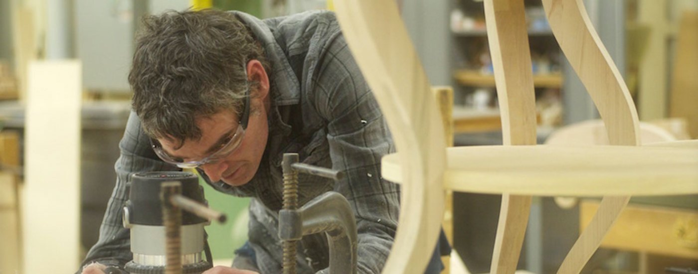 Tom Shields Artist in Residence at Century Furniture