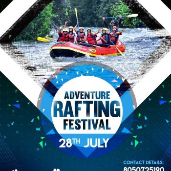 adventure rafting festival 28th July