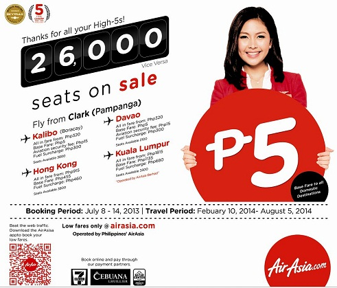 AirAsia Two Million Promo Seats