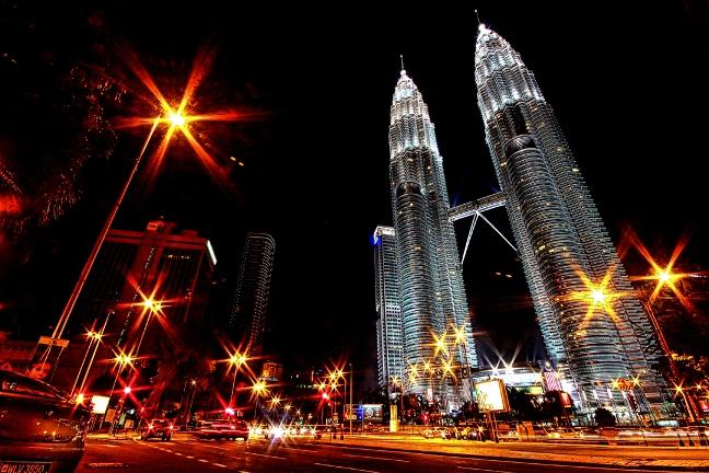 Petronas Tower at Kuala Lumpur