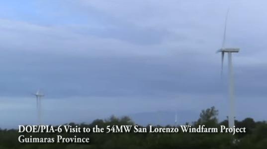 San Lorenzo Wind Farm Guimaras