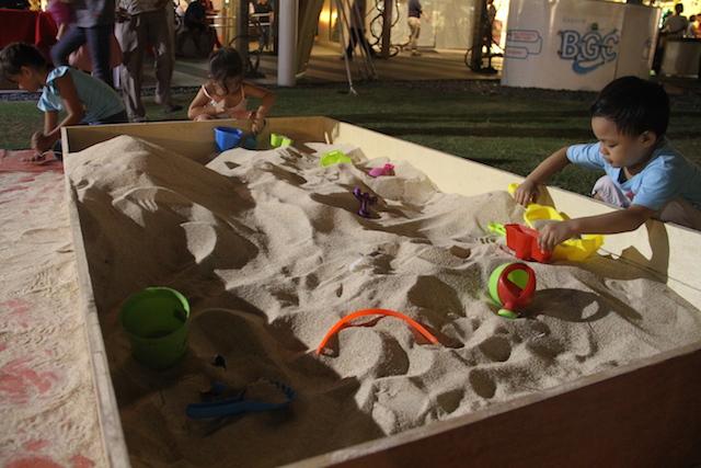 Sand Box Area