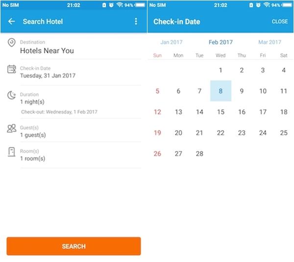 Traveloka Booking Date