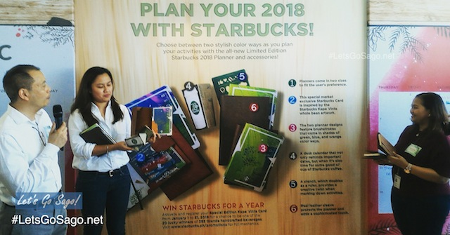 Starbucks 2018 Planner Philippines