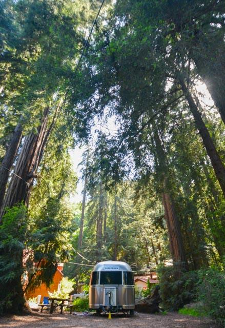 Airstream Rental At Big Sur Campground