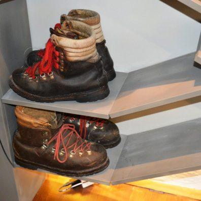 Shoes by Slovene climber Viki Grošelj.